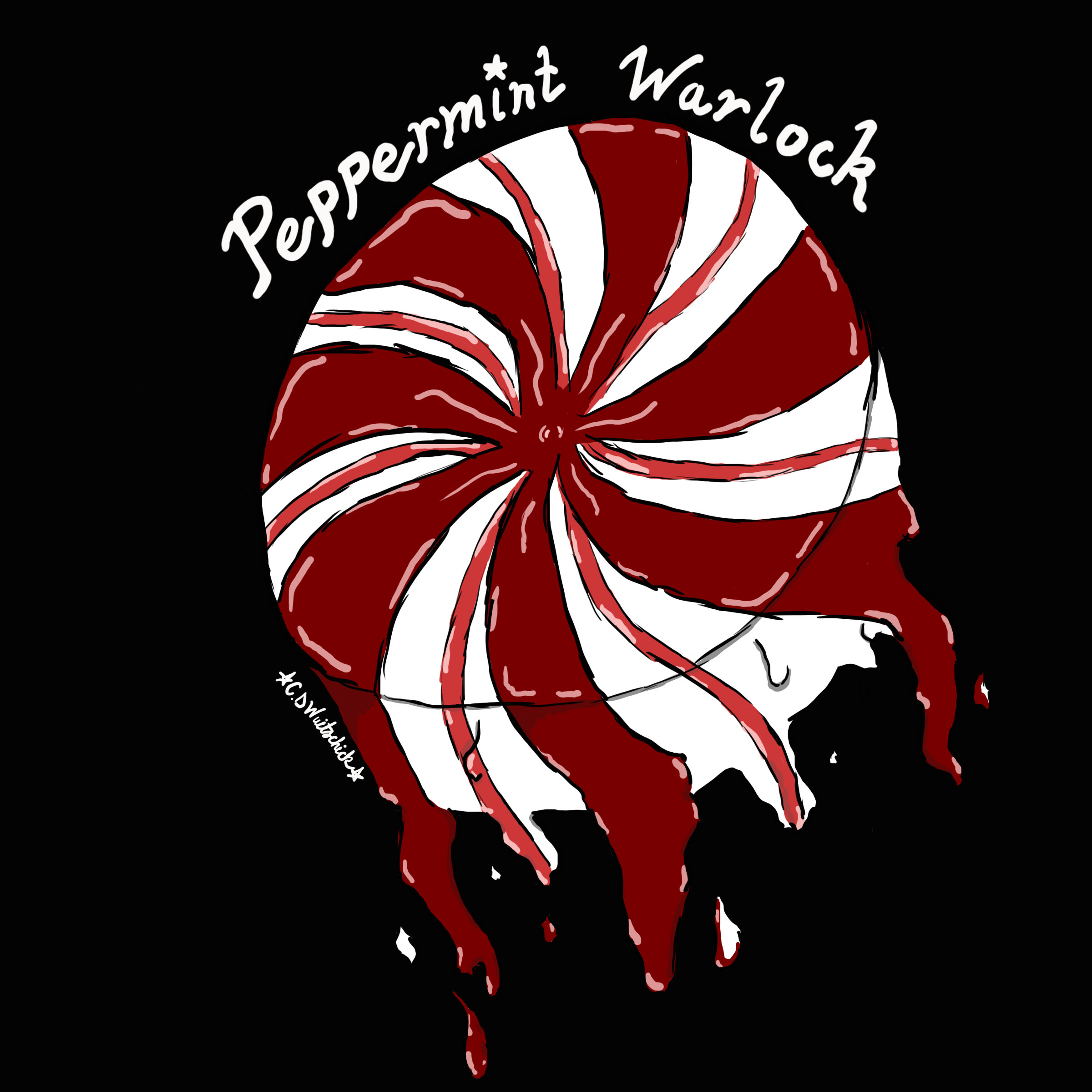 Peppermint Warlock